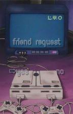Friend Request || BNHA textfic by mxmxbird