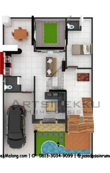 Gambar Contoh Rumah Minimalis Cluster  call wa 0813 5828 2515 gambar denah rumah minimalis