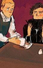 The Only Reason He Hangs Around the Coffee Shop (Johnlock AU) by 221bstarfleetstreet