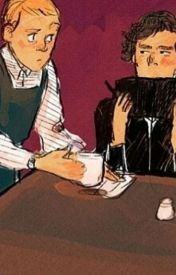 The Only Reason He Hangs Around the Coffee Shop (Johnlock AU) by 221bstarfleetstreet