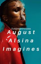 August Alsina Imagines by _OutspokenPrincess