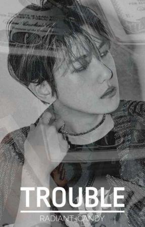 Trouble   Byun Baekhyun by radiant_candy