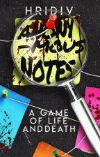 Anonymous Notes  by hridiv