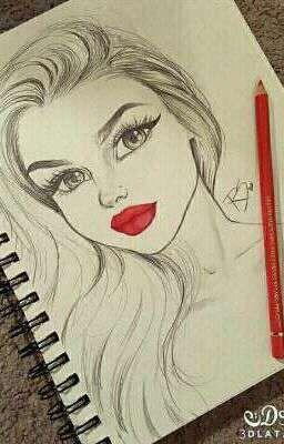 تعليم الرسم خطوة بخطوة تعليم رسم الوجه وجه المراة Wattpad