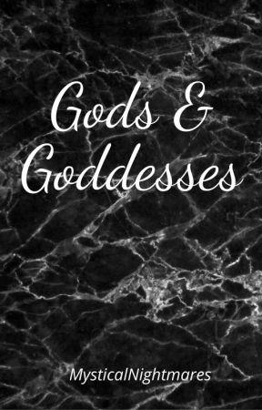 Gods & Goddesses by MysticalNightmares