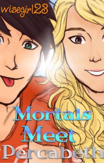 Mortals Meet Percabeth-Percy Jackson FanFiction