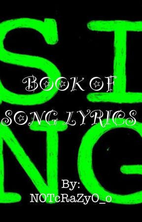 Superb BOOK OF SONG LYRICS