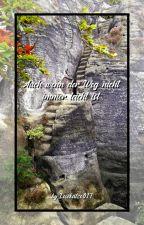 Auch wenn der Weg nicht immer leicht ist by Lesekatze017