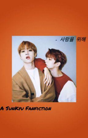- 사랑을 위해 - | A SunKyu Fanfiction by SUNDREAMS-