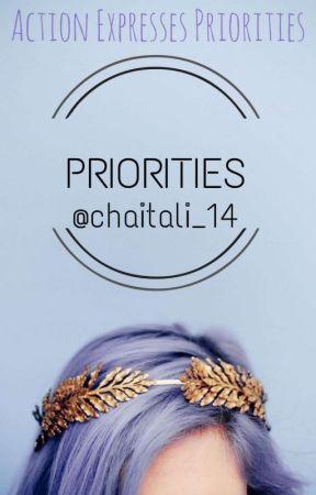 PRIORITIES by chaitali_14