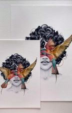 Blindfolded Painting by Laurent Carrier by laurent-carrier