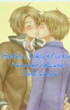 (Hetalia UkUs/UsUk)HawwerdeLand Solo amor by Yaoi_Land456