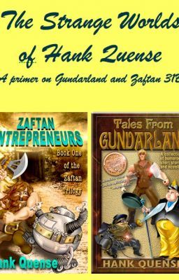 The Strange Worlds of Hank Quense