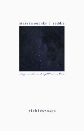 stars in our sky  ►  reddie au by richiesroses