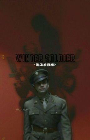 ||WINTER SOLDIER: sargeant barnes||【✅】 by CertifiedCrackhead