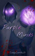 Purple Minds by LueyLuna23