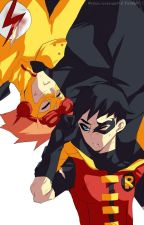 Kid Flash X Reader X Robin (Young Justice). by LexRandom223