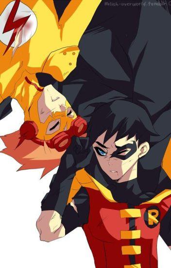 Kid Flash X Reader X Robin (Young Justice)  - LexRandom223
