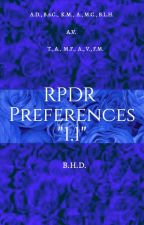 RPDR Preferences by BoHoDyke_27