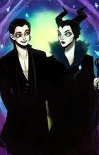 Maleficent x Diaval by I_Heart_Horror_