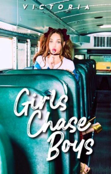 Girls Chase Boys → maddie ziegler
