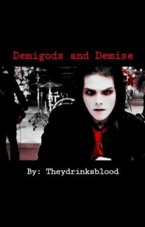 Demigods And Demise (Gerard Way x Reader) by Cyanndrinksblood