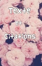 Citations et textes by fred_23