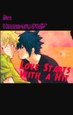 Love Starts with a Hit <SasuNaru///One-Shot> (boyxboy) by bloopy-moons
