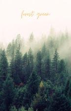 forest green ● jason grace by mgrace2000