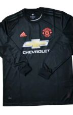 19/20 Manchester United Third Away Black Long Sleeve Jersey by Rideep99