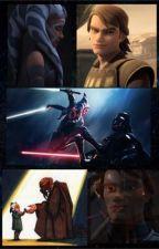 TCW: Ahsoka and Anakin Oneshots  by theredroomwidow