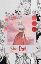 The Demon Among Fairies |Mirajane x OC| by SpringSaber