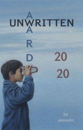 Unwritten Award'20 by aescado