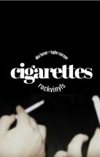 cigarettes ☹ alex turner by rockvinyls