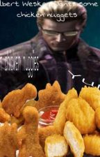 Albert Wesker wants some chicken nuggies by CallieCalamari