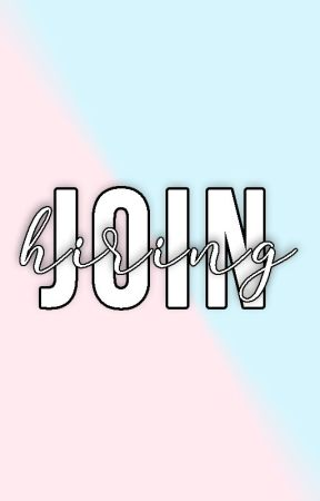 Join the Team | HIRING by spilling-ink