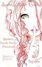 Saprine's Author Updates by Saprine