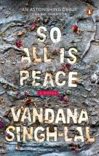 SO ALL IS PEACE (Contest Inside!) by penguinindia