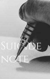 Suicide. by nopidynoper