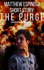 The Purge: Matthew Espinosa   SHORT STORY by Sinfulx0