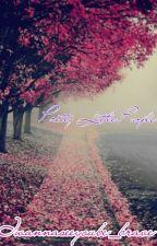 Pretty Little Purple Roses by Iwannaseeyoube_brave