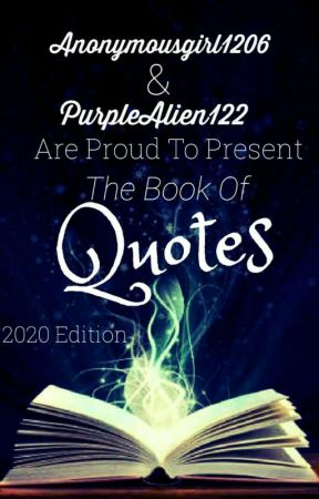 The book of quotes.  by ThePurpleIceAwards