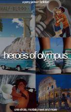 HEROES OF OLYMPUS by slutlinebling