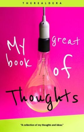 My Great Book of Thoughts by Therealdera