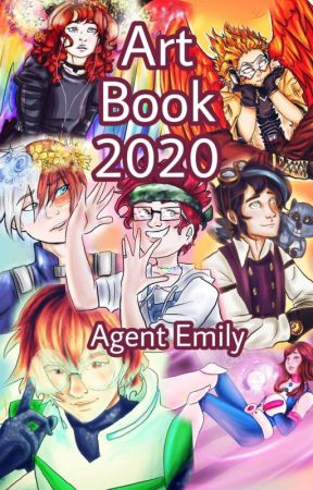 Art Book 2020 by AgentEmily_Spades