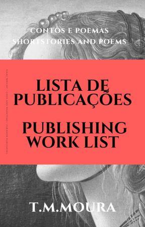 Lista de Obras de T.M.Moura by tmmoura-autora