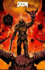 Armageddon (Highschool DxD x DOOM) by Square4you