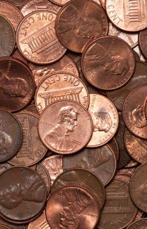 Pennies by JeffBrutlag