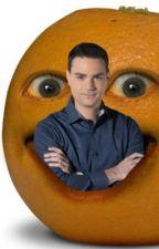 Your not raw~ Gordon Ramsay  x annoying Orange  by gaylord_biglesbian