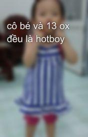 cô bé và 13 ox đều là hotboy by choihyunhyo1